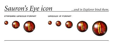 Eye of Sauron by rawart