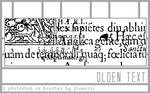 6 Olden Text Brushes