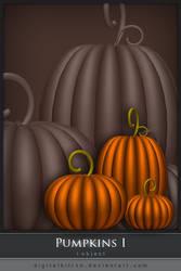 Pumpkins I by ObsessiveDezign