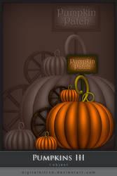Pumpkins III by ObsessiveDezign