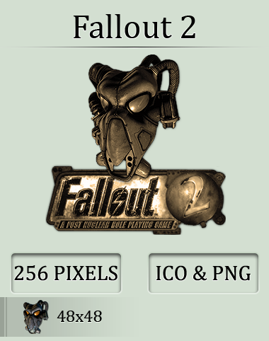 Fallout 2 Icon by UltimateAoshi