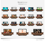 Movie Genres Icons 2013 Update!