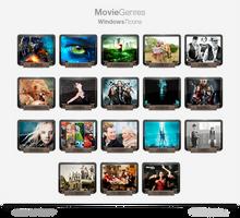 Movie Genres Icons 2013 Update.