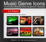 Genres Music Icons