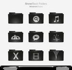 Snow Black Folders