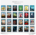Bluray Movie Icons