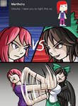 We will fight! by AskUtsuhoReiuji