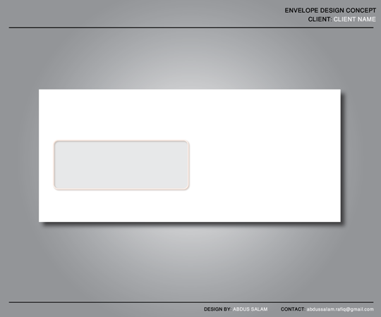 Envelope Design Template by Abdussalam on DeviantArt