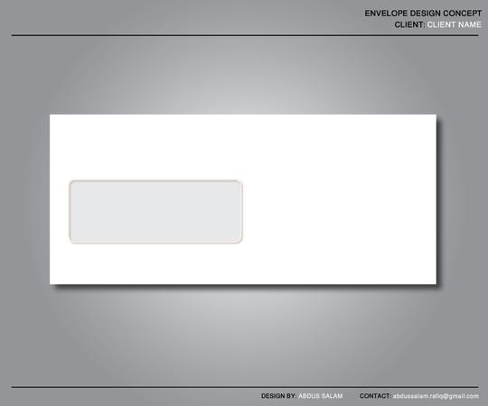 envelope design template by abdussalam on deviantart. Black Bedroom Furniture Sets. Home Design Ideas