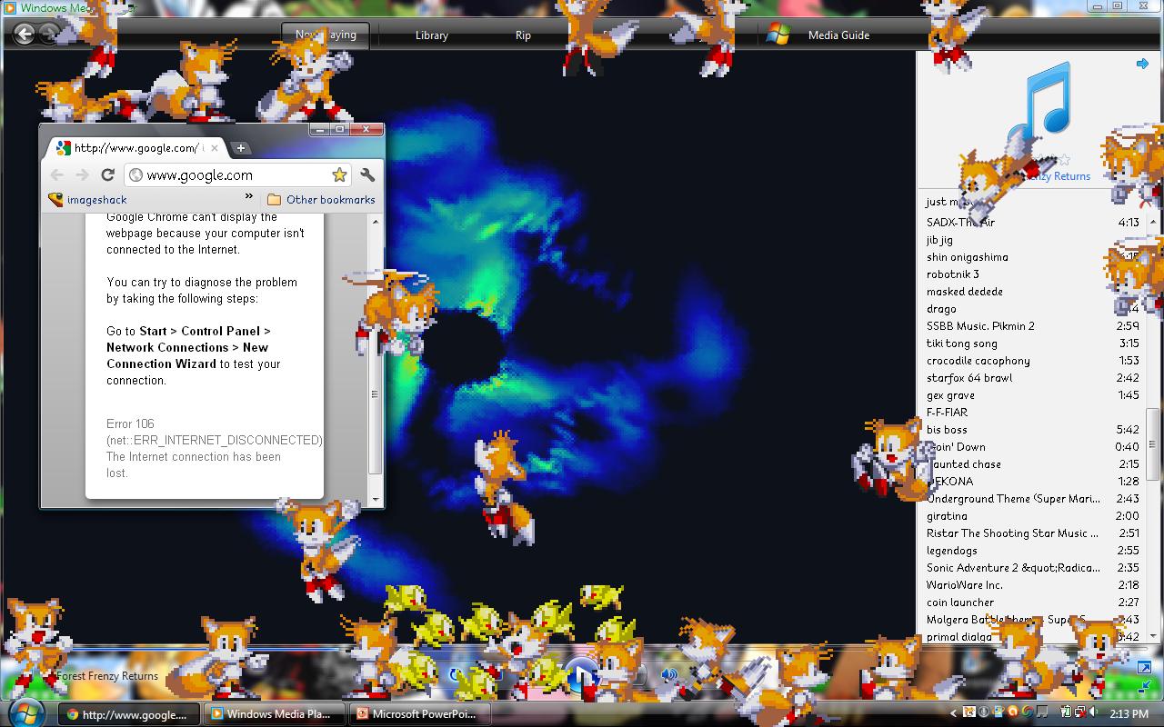 Tails Shimeji -Download-