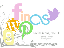social icons vol. 1 by Lady Khadija