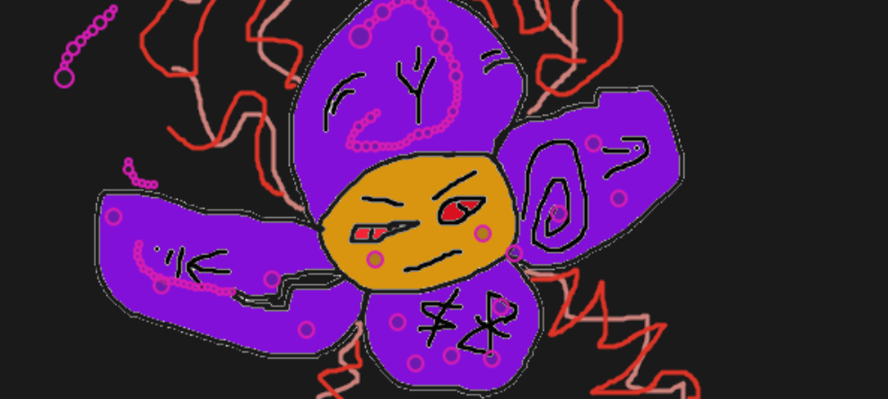 yimi the evile flower of hex by MeetaEvie