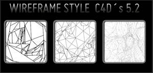 wireframe style C4Ds 5v2