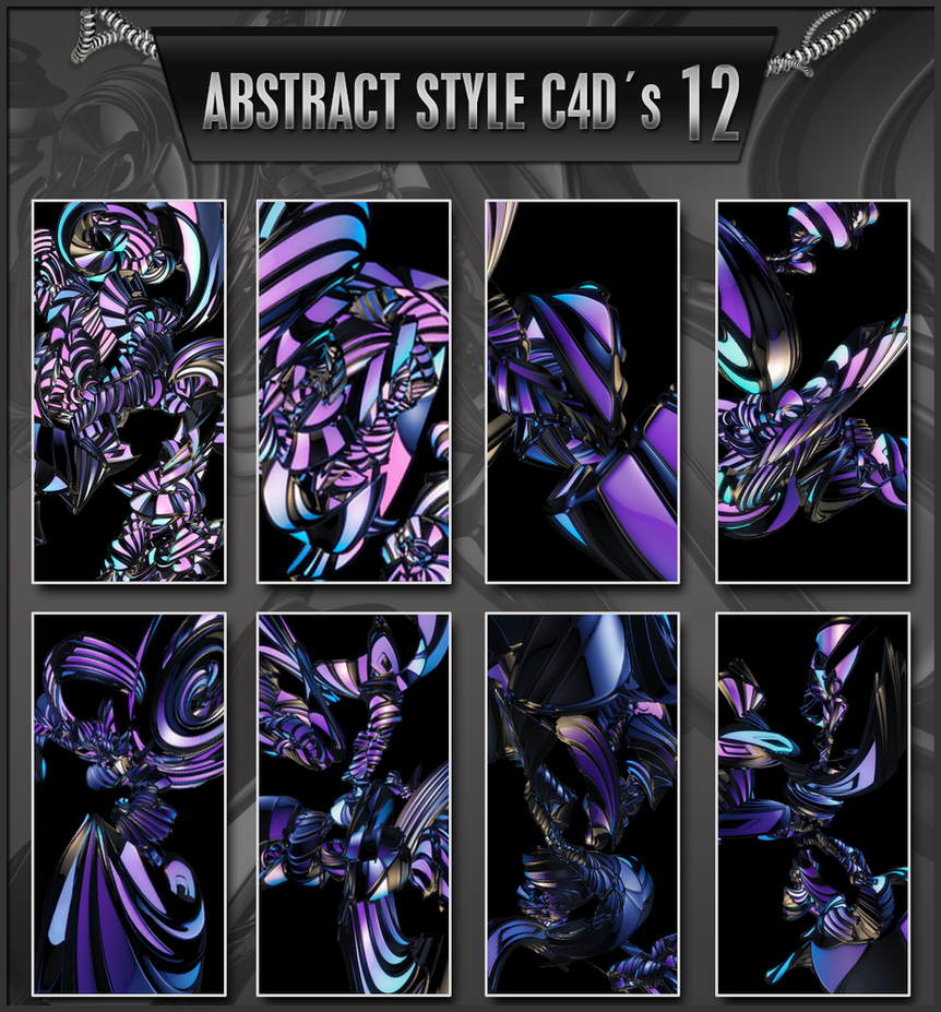 Abstract C4D pack 12 by trveviking