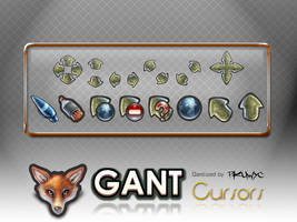 GANT Cursors Pack - M by pkuwyc