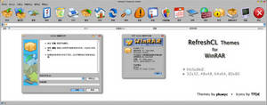 RefreshCL Themes for WinRAR