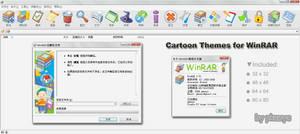 Cartoon Themes for WinRAR