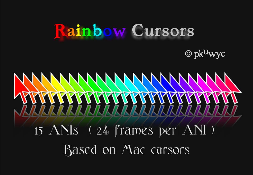 Rainbow Cursors