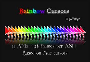 Rainbow Cursors by pkuwyc