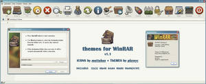 Buuf theme for WinRAR