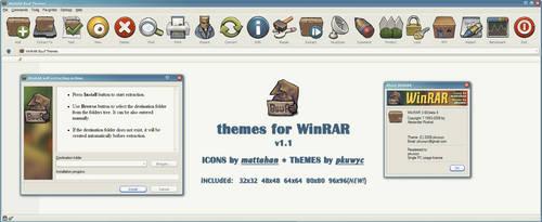 Buuf theme for WinRAR