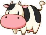 Harvest moon moo cow cursor set
