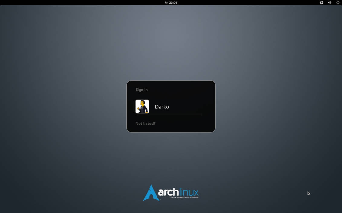 Arch Linux element GDM wallpaper by malisremac on DeviantArt