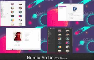 Numix Arctic by malisremac