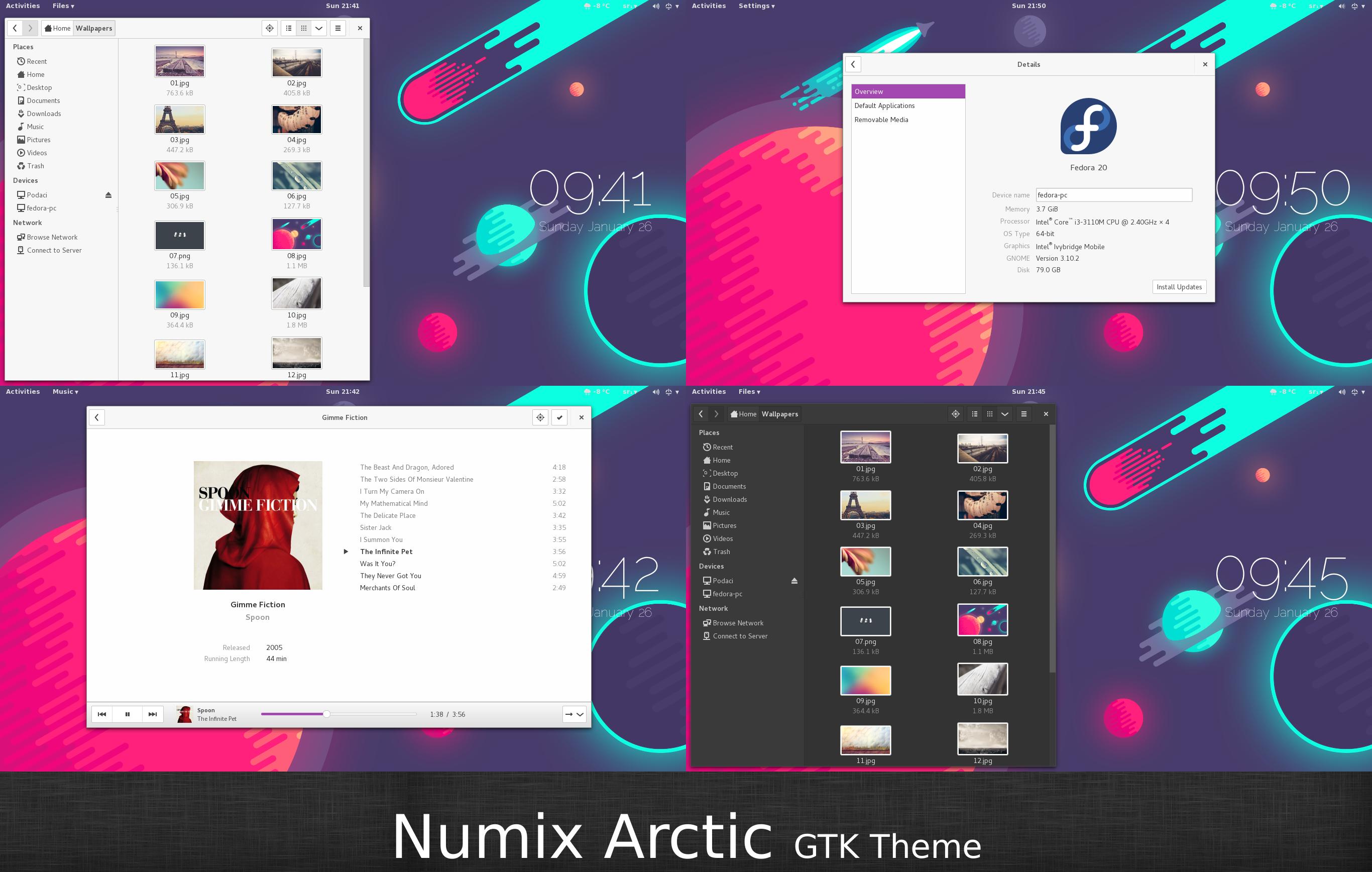 numix arctic by malisremac on deviantart