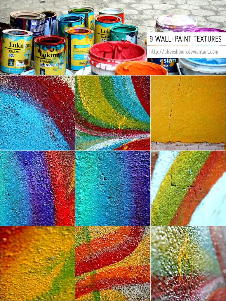 9-wallpaint-textures by Bheeshoom
