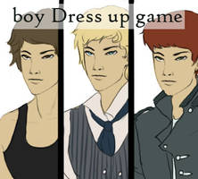 dress up game boy by wickedevilbunny