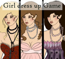 dress up game girl by wickedevilbunny