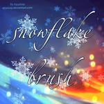 snowflake brush by AyyaSAP