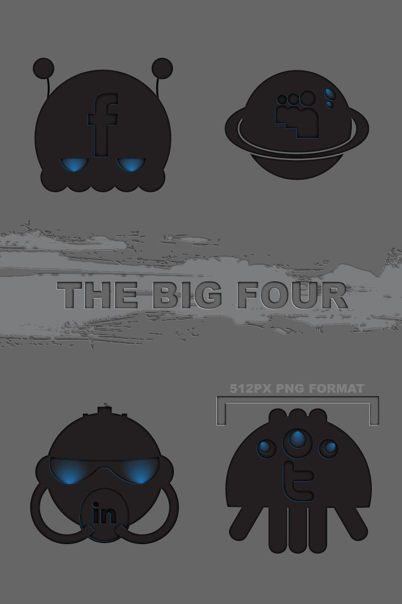 The Big Four by PsychoPink