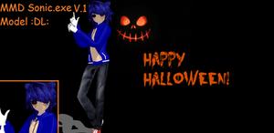 MMD Sonic.exe Model :DL: