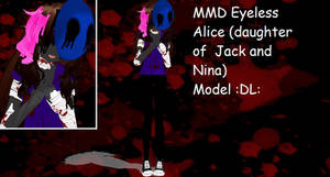 MMD Eyeless Alice model :DL: