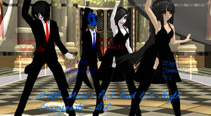 MMD Models Pack Bad End Nigth -Creepypasta- :DL: by mokathekiller