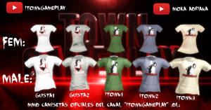 MMD camisetas oficiales itowngameplay :DL: