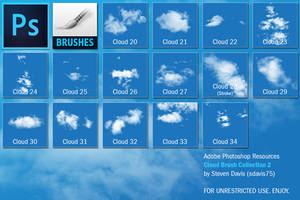 Photoshop Cloud Brushes 2 by sdavis75
