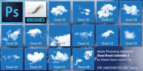 Photoshop Cloud Brushes 3