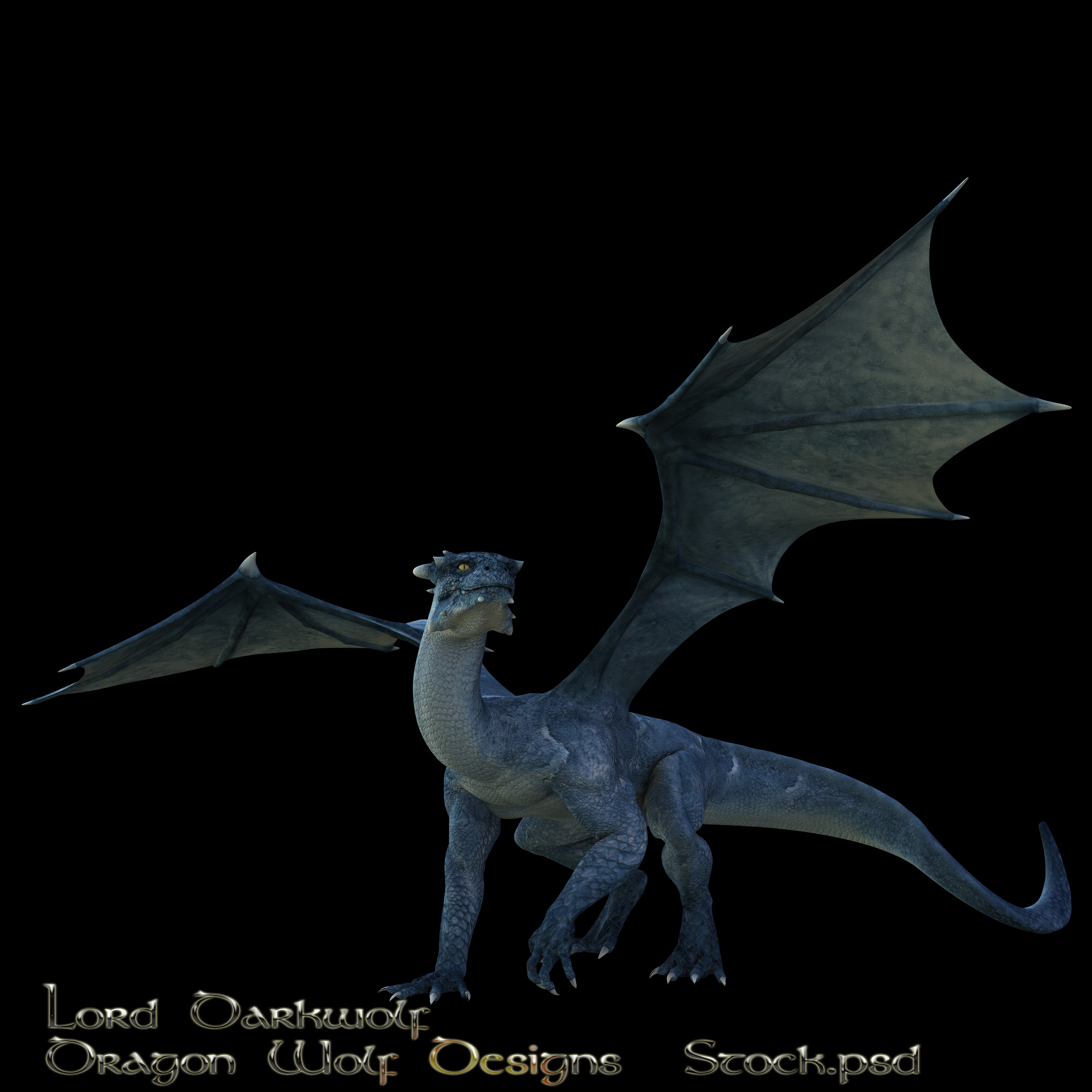 Blue Dragon stock one