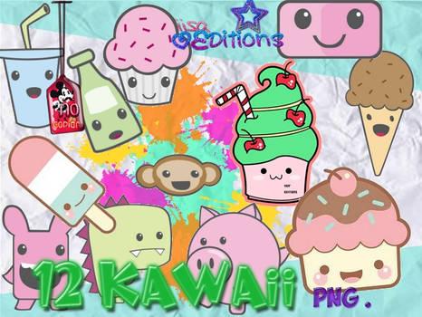 Pack de Kawaii - Cutes png