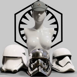 First Order Headgear by Desterotica