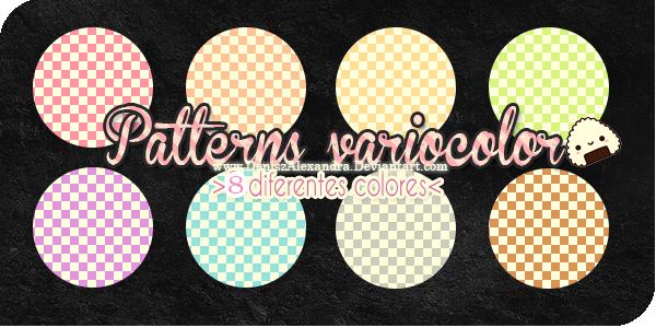 Patterns Variocolor ~ by Utsutsu-chi