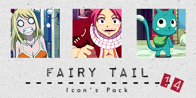 Icon Pack Fairy Tail by NaokoMizuto