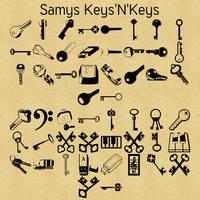 Free font! Samys Keys'N'Keys by RetSamys