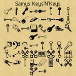 Free font! Samys Keys'N'Keys