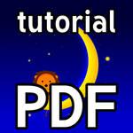 PDF Tutorial: Moon and Lion (GIMP, Vector) by RetSamys