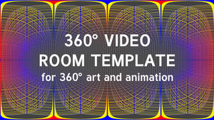 360 degree video template (room) by RetSamys