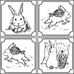 Easter Bunny cards by RetSamys